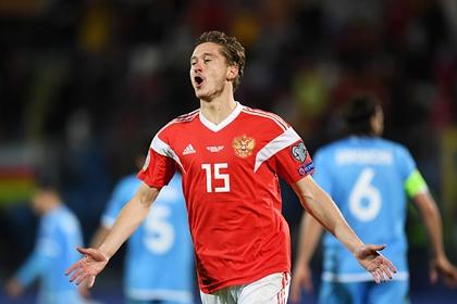 Стало известно о грядущем переходе игрока сборной России в «Ювентус»0