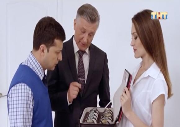 Photo of ТНТ вырезал из сериала «Слуга народа» с Зеленским шутку про «Путин — хубло»
