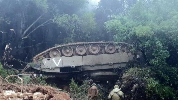 Photo of В Северном военном округе Израиля приостановлены учения из-за перевернувшегося танка