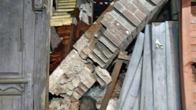 Photo of Опубликовано видео из подъезда жилого дома в Энгельсе, где обрушились лестничные марши
