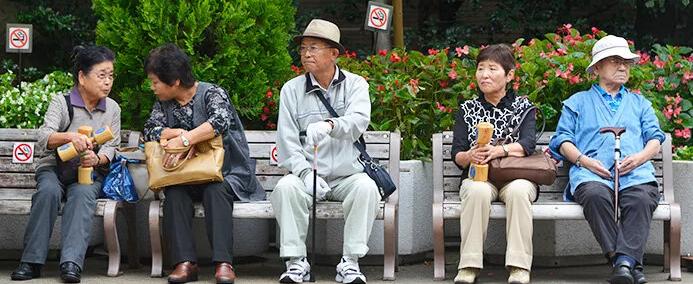 Пенсионеры Японии