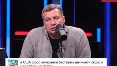 Photo of Соловьев попытался уличить во лжи девушку, рассказавшую о помощи государства в США