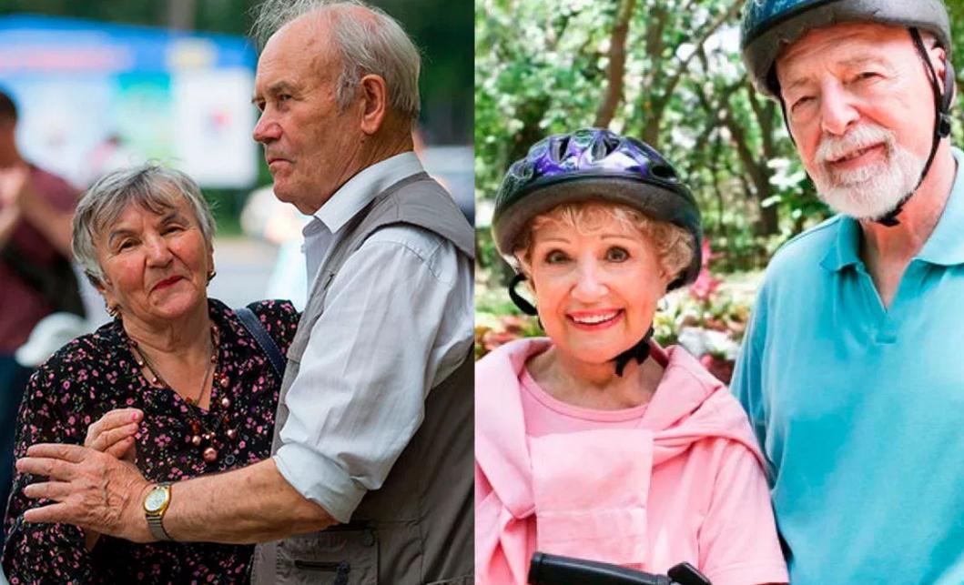 Сравнение пенсий