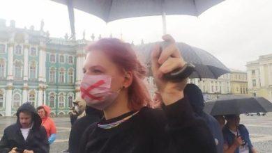 Photo of В Петербурге начались протесты против поправок в Конституцию